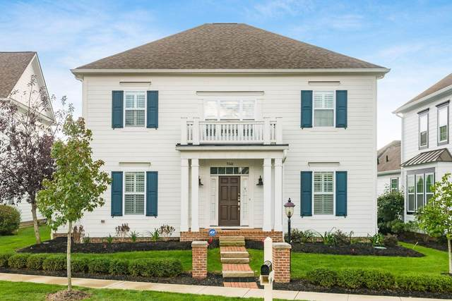 7141 Emmet Row Lane, Dublin, OH 43017 (MLS #221041988) :: Berkshire Hathaway HomeServices Crager Tobin Real Estate