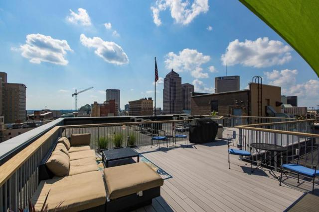 110 N 3rd Street #405, Columbus, OH 43215 (MLS #218004217) :: The Mike Laemmle Team Realty