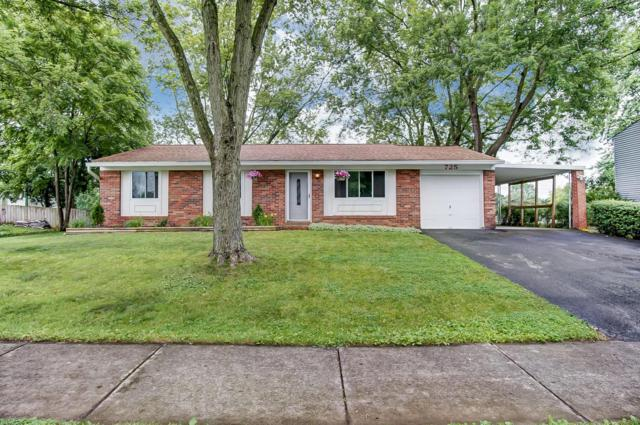 725 Lakeland Drive, Westerville, OH 43081 (MLS #219022157) :: The Clark Group @ ERA Real Solutions Realty