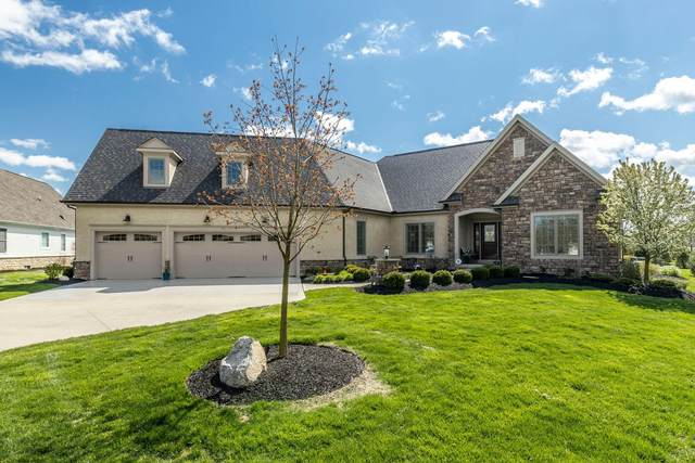 8068 Campbell Lane, Dublin, OH 43017 (MLS #220012390) :: The Willcut Group
