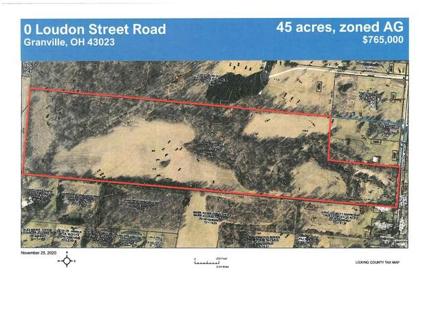 0 Loudon Street Lot 3, Granville, OH 43023 (MLS #220042398) :: The Raines Group
