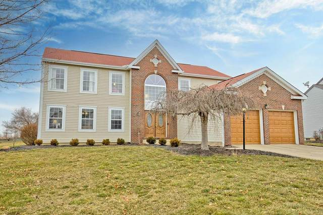 3417 Courtland Drive, Lewis Center, OH 43035 (MLS #221005813) :: The Jeff and Neal Team | Nth Degree Realty
