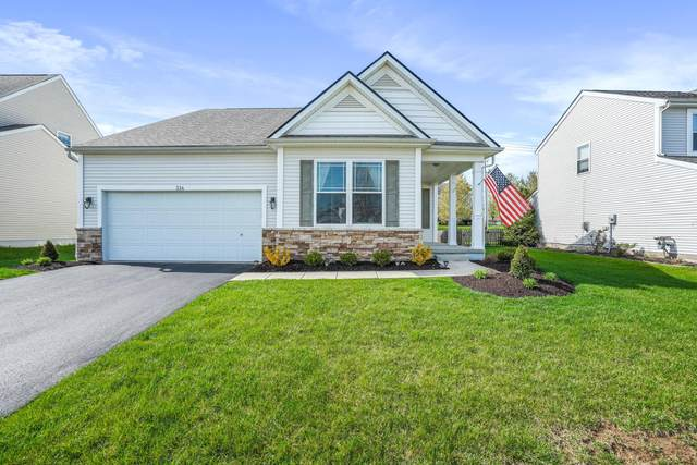 334 Timbersmith Drive, Delaware, OH 43015 (MLS #221009425) :: MORE Ohio
