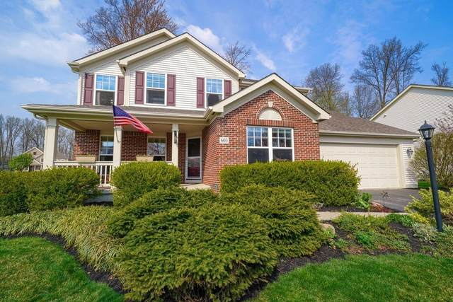 603 Deer Trail, Westerville, OH 43082 (MLS #221010003) :: MORE Ohio