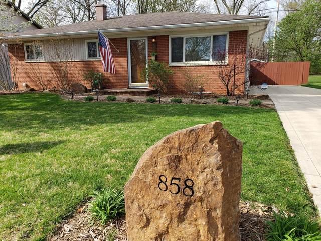 858 N Lincoln Avenue, Columbus, OH 43229 (MLS #221010330) :: Core Ohio Realty Advisors