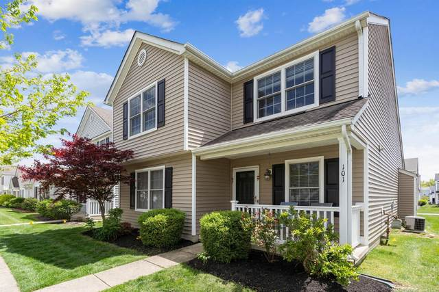 101 Feathertip Lane, Lewis Center, OH 43035 (MLS #221015238) :: The Raines Group