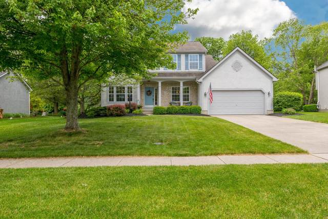 2279 Bryton Drive, Powell, OH 43065 (MLS #221017364) :: The Tobias Real Estate Group