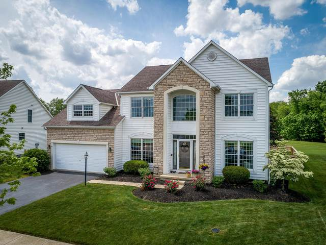 7558 Fairfield Lakes Drive, Powell, OH 43065 (MLS #221018128) :: The Tobias Real Estate Group