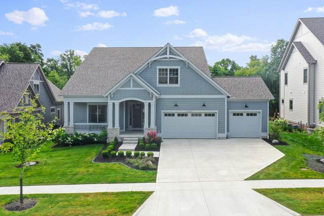 5555 Stansbury Drive, Dublin, OH 43017 (MLS #221032341) :: Sandy with Perfect Home Ohio