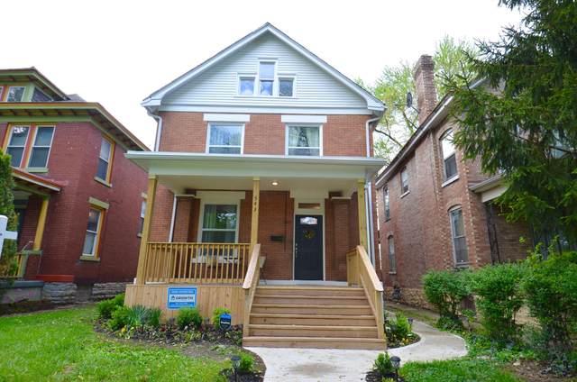 543 Wilson Avenue, Columbus, OH 43205 (MLS #221013895) :: The Raines Group
