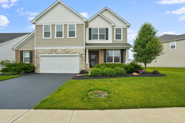 554 Eagle Walk Road, Delaware, OH 43015 (MLS #221020184) :: The Tobias Real Estate Group