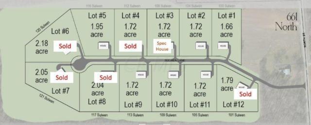 116 Sulwen Lane Lot #5, Granville, OH 43023 (MLS #216007289) :: Berkshire Hathaway HomeServices Crager Tobin Real Estate