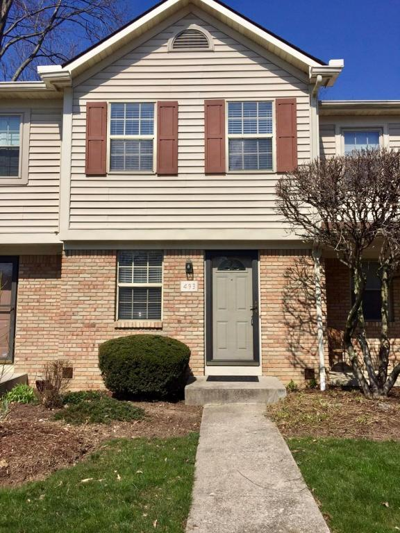 493 Foxtrail Circle W, Westerville, OH 43081 (MLS #218011719) :: Julie & Company
