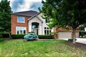 8090 Luckstone Drive, Dublin, OH 43017 (MLS #218018395) :: The Clark Group @ ERA Real Solutions Realty