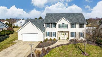 1383 Courtney Drive, Washington Court House, OH 43160 (MLS #219006050) :: Brenner Property Group | Keller Williams Capital Partners
