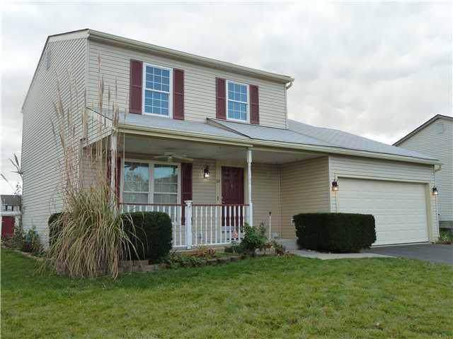 30 Brenton Drive, Ashville, OH 43103 (MLS #220001694) :: The Willcut Group