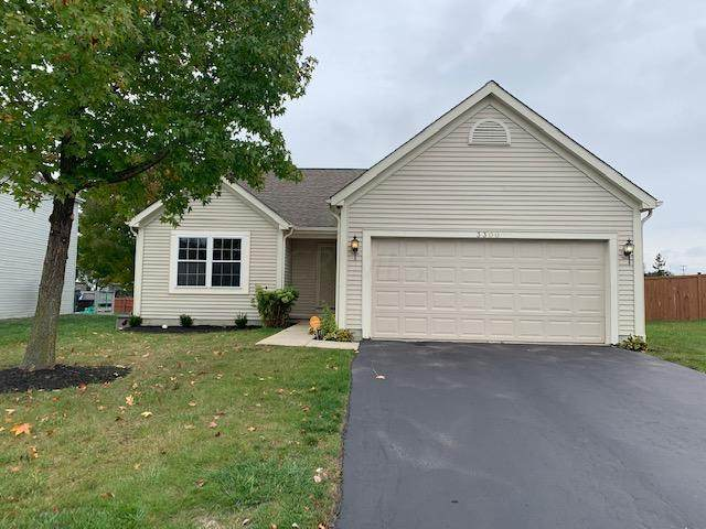 3300 Woodmore Hollow Drive, Canal Winchester, OH 43110 (MLS #220035943) :: The Jeff and Neal Team | Nth Degree Realty