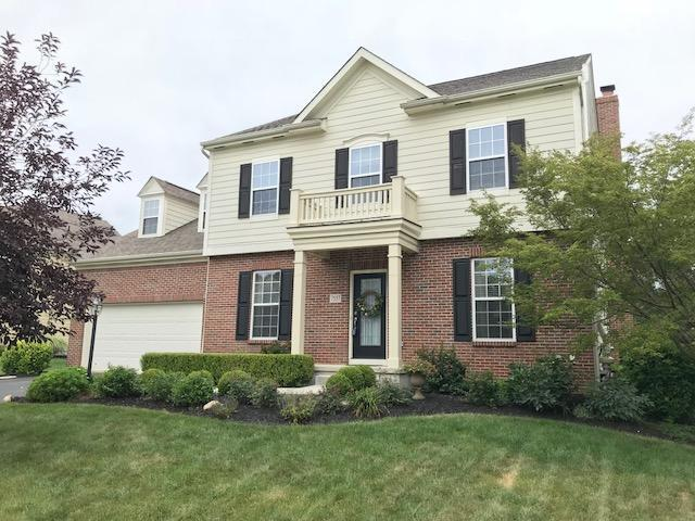 7557 Upper Cambridge Way, Westerville, OH 43082 (MLS #218027145) :: Berkshire Hathaway HomeServices Crager Tobin Real Estate