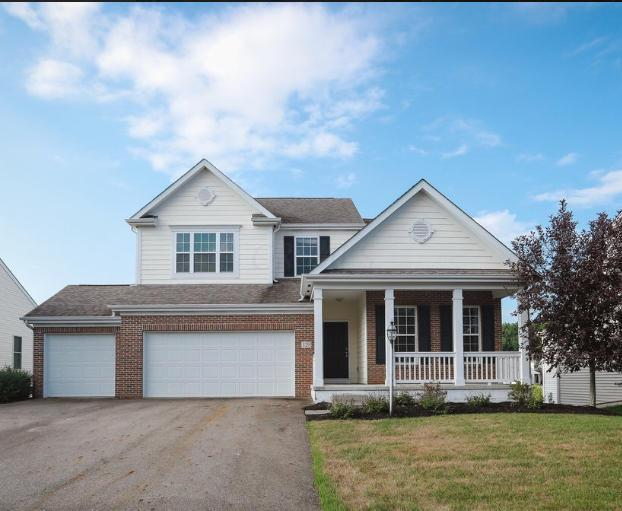 129 Fox Glen Drive E, Pickerington, OH 43147 (MLS #218028025) :: Berkshire Hathaway HomeServices Crager Tobin Real Estate