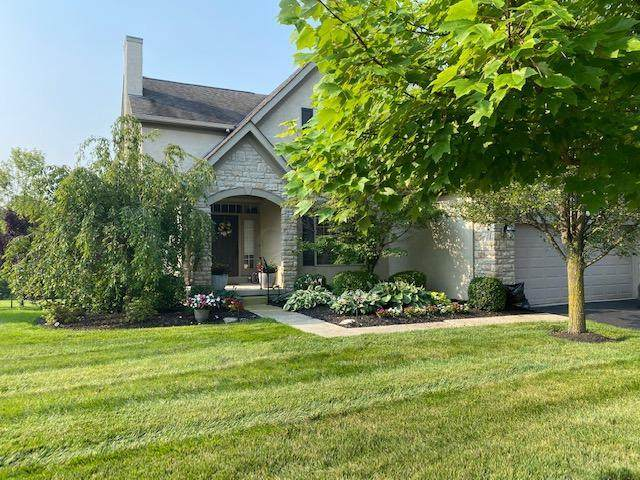 4977 Scenic Creek Drive, Powell, OH 43065 (MLS #221028475) :: The Raines Group