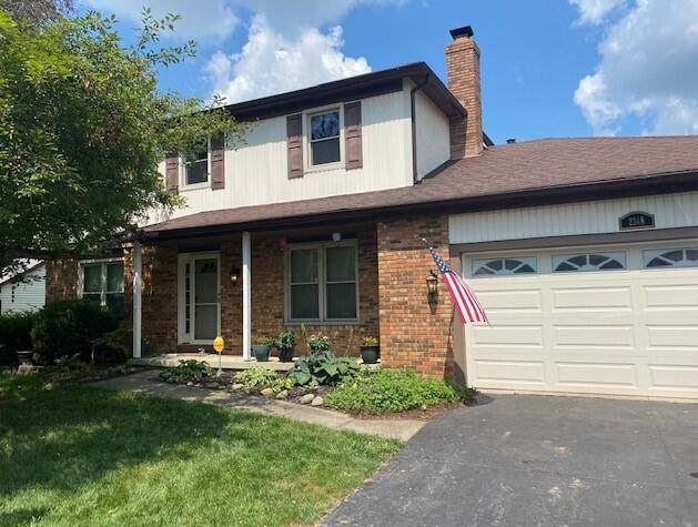 2248 Stratingham Drive, Dublin, OH 43016 (MLS #221032764) :: The Gale Group