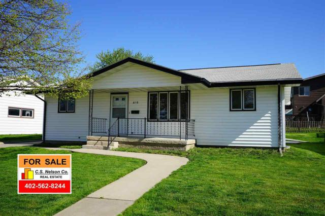 410 2ND STREET, PLATTE CENTER, NE 68653 (MLS #1900391) :: Berkshire Hathaway HomeServices Premier Real Estate