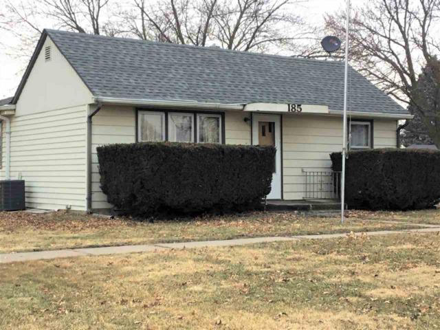 185 N 7TH, DAVID CITY, NE 68632 (MLS #1900047) :: Berkshire Hathaway HomeServices Premier Real Estate