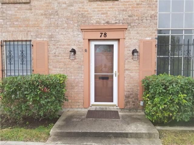 78 Townhouse Lane, Corpus Christi, TX 78412 (MLS #337713) :: Five Doors Real Estate