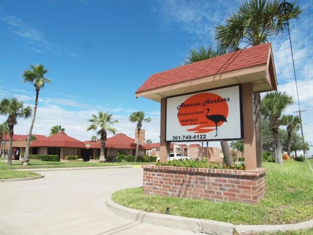 230 Cut Off, Aransas Harbors #120, Port Aransas, TX 78373 (MLS #347678) :: Desi Laurel Real Estate Group