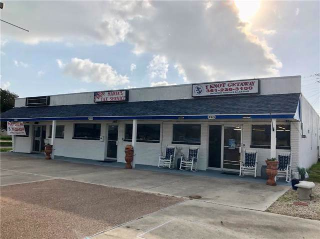 235 S Commercial St, Aransas Pass, TX 78336 (MLS #350162) :: Desi Laurel Real Estate Group