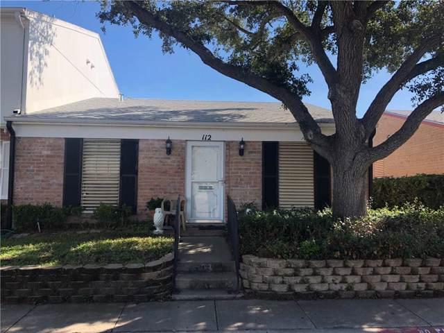112 Townhouse, Corpus Christi, TX 78412 (MLS #355248) :: RE/MAX Elite Corpus Christi