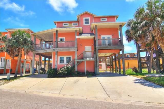 2034 Sand Point, Port Aransas, TX 78373 (MLS #357624) :: Desi Laurel Real Estate Group
