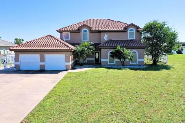 103 Amberjack Drive, Aransas Pass, TX 78336 (MLS #359530) :: KM Premier Real Estate
