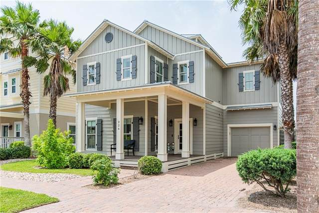 226 Bent Grass Drive, Port Aransas, TX 78373 (MLS #362208) :: KM Premier Real Estate