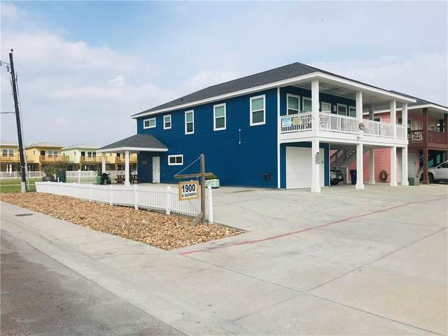 1900 S Eleventh Street #8, Port Aransas, TX 78373 (MLS #364116) :: KM Premier Real Estate