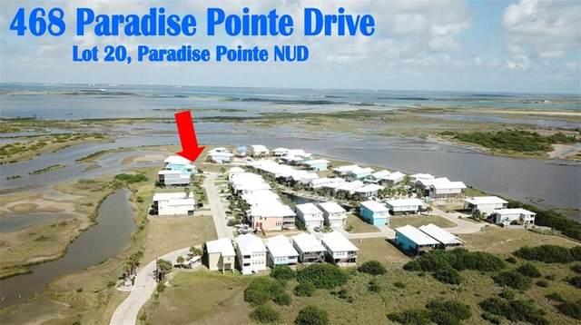 468 Paradise Pointe Drive, Port Aransas, TX 78373 (MLS #370113) :: South Coast Real Estate, LLC