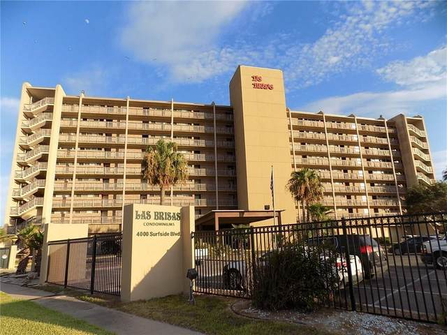 4000 Surfside Boulevard #708, Corpus Christi, TX 78402 (MLS #371258) :: South Coast Real Estate, LLC