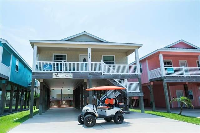 614 Island Retreat Court, Port Aransas, TX 78373 (MLS #376768) :: KM Premier Real Estate