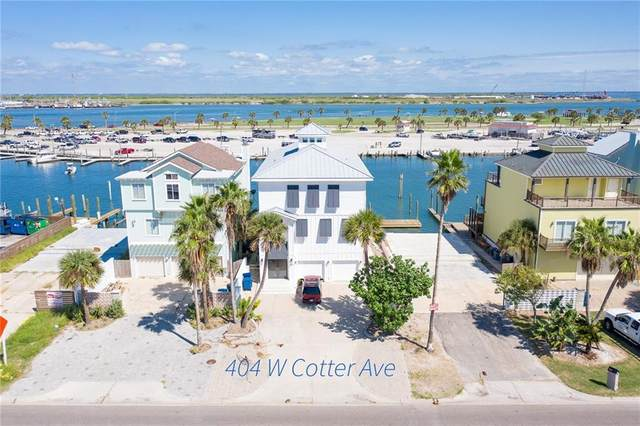404 W Cotter Avenue, Port Aransas, TX 78373 (MLS #377700) :: KM Premier Real Estate