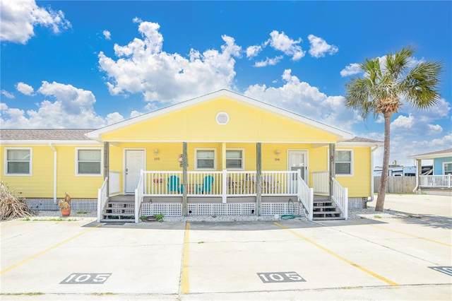 1726 11th Street S #105, Port Aransas, TX 78373 (MLS #380803) :: South Coast Real Estate, LLC
