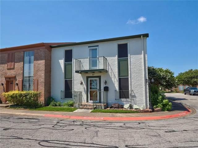 77 Townhouse Lane, Corpus Christi, TX 78412 (MLS #383597) :: South Coast Real Estate, LLC