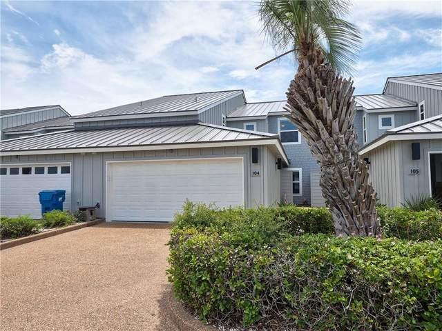 309 Piper Boulevard #104, Port Aransas, TX 78373 (MLS #386359) :: South Coast Real Estate, LLC