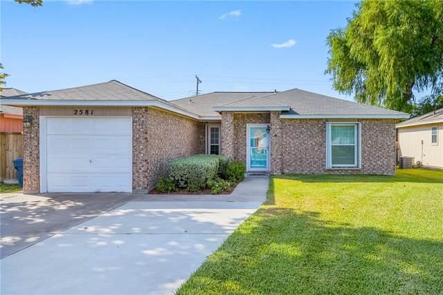 2581 Alana, Ingleside, TX 78362 (MLS #389415) :: South Coast Real Estate, LLC