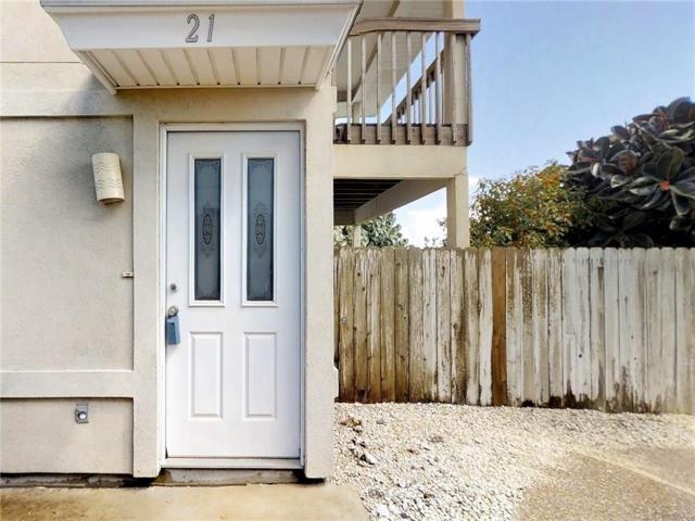 15125 Leeward Dr #21, Corpus Christi, TX 78418 (MLS #335391) :: Better Homes and Gardens Real Estate Bradfield Properties