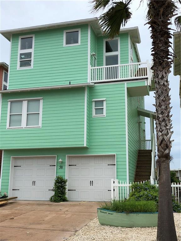 2525 S 11th Street #58, Port Aransas, TX 78373 (MLS #346607) :: Jaci-O Group | Corpus Christi Realty Group