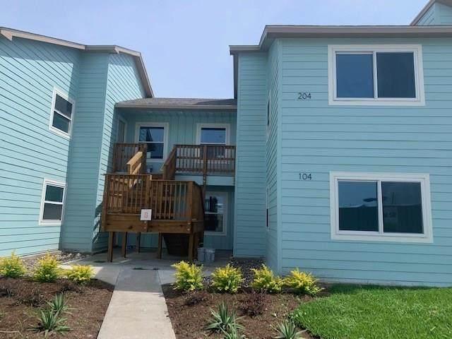 230 Cut Off Road #204, Port Aransas, TX 78373 (MLS #357199) :: KM Premier Real Estate