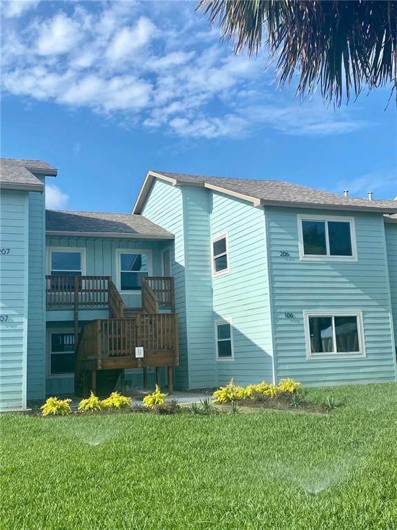 230 Cut Off #206, Port Aransas, TX 78373 (MLS #356555) :: KM Premier Real Estate