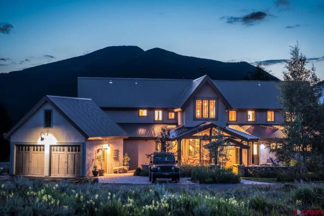 167 E Silver Sage Drive, Crested Butte, CO 81224 (MLS #736572) :: Durango Home Sales