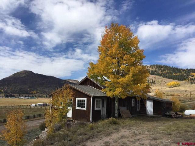 600 Forest Road 520, Creede, CO 81130 (MLS #738558) :: Durango Home Sales