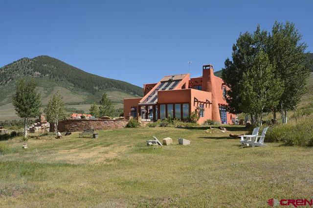 55 Round Mountain Road, Almont, CO 81210 (MLS #740732) :: The Dawn Howe Real Estate Network   Keller Williams Colorado West Realty